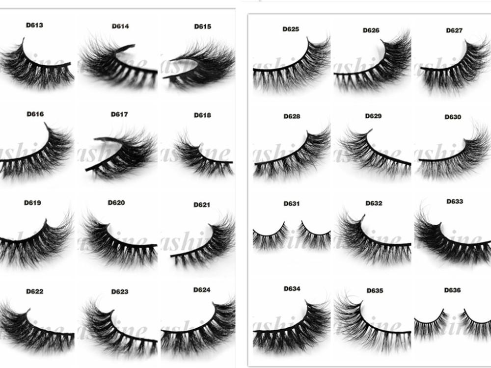 Custom Eyelash Packaging Wholesale Beauty Supply Mink Eyelashes 3d ...