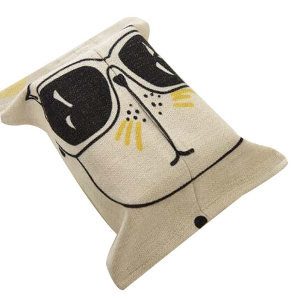 Cartoon Paper Towel Box Lovely Tissue Holder Creative Tissue Boxes Napkin Box