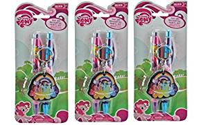My Little Pony Pen and Mechanical Pencil 2pk on the card x 3 packs