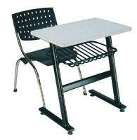 student desk and chair middle school student desk and chair school plastic table and chair for kids CT-306
