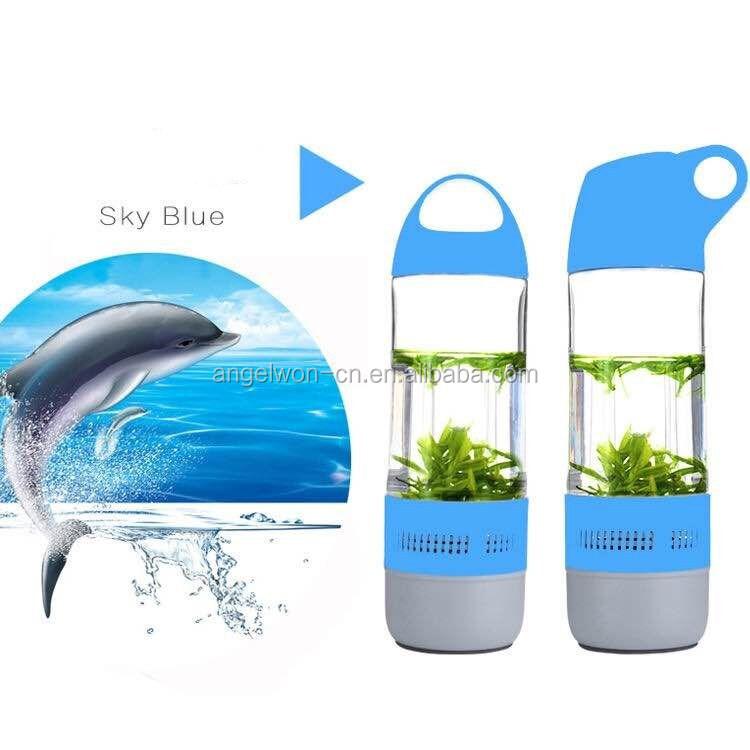 400ml Portable Waterproof Speaker Bluetooth Bottle Shape Outdoor ...