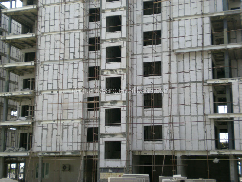 2014 new steel&EPS cement sandwich panel construction hotel with fire/water proof sound insulation&absorption