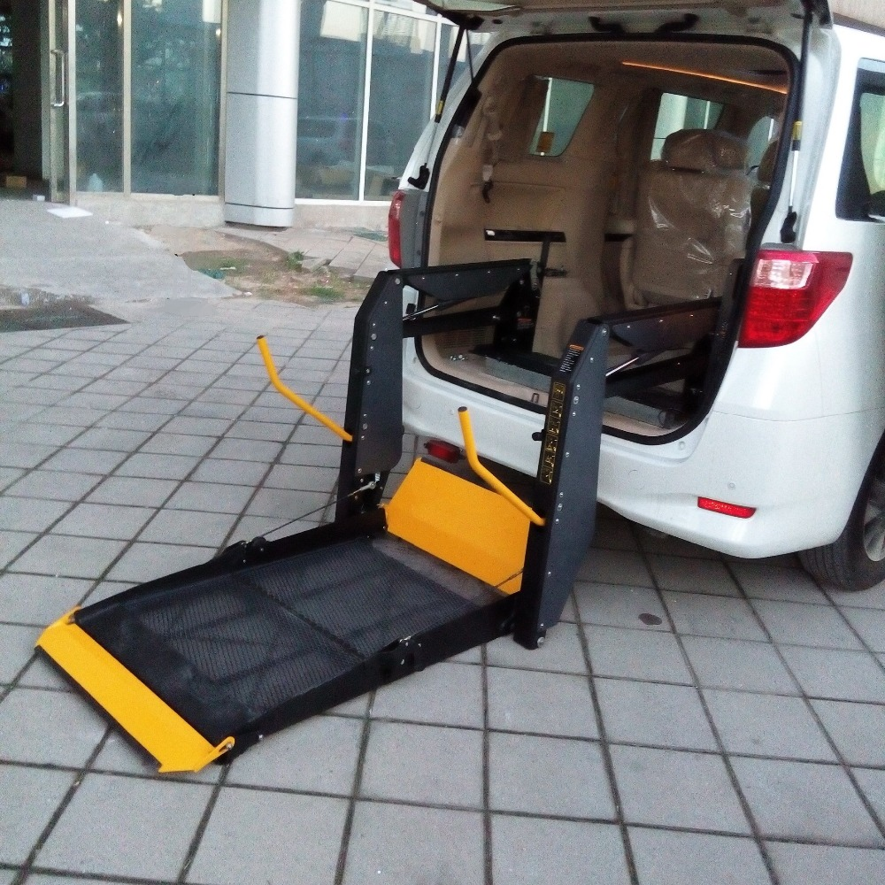 Wheelchair Lift For Car >> Wl D Hydraulic Wheelchair Lift For Van For Disabled With Ce Certificate Loading Capacity Is 350kg View Wheelchair Lift For Van Xinder Product