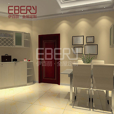 Dinning room cabinet set glass door cabinet circular display cabinet