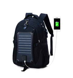 Portable Flexible Hydration Solar Panels Power System Charger Backpack