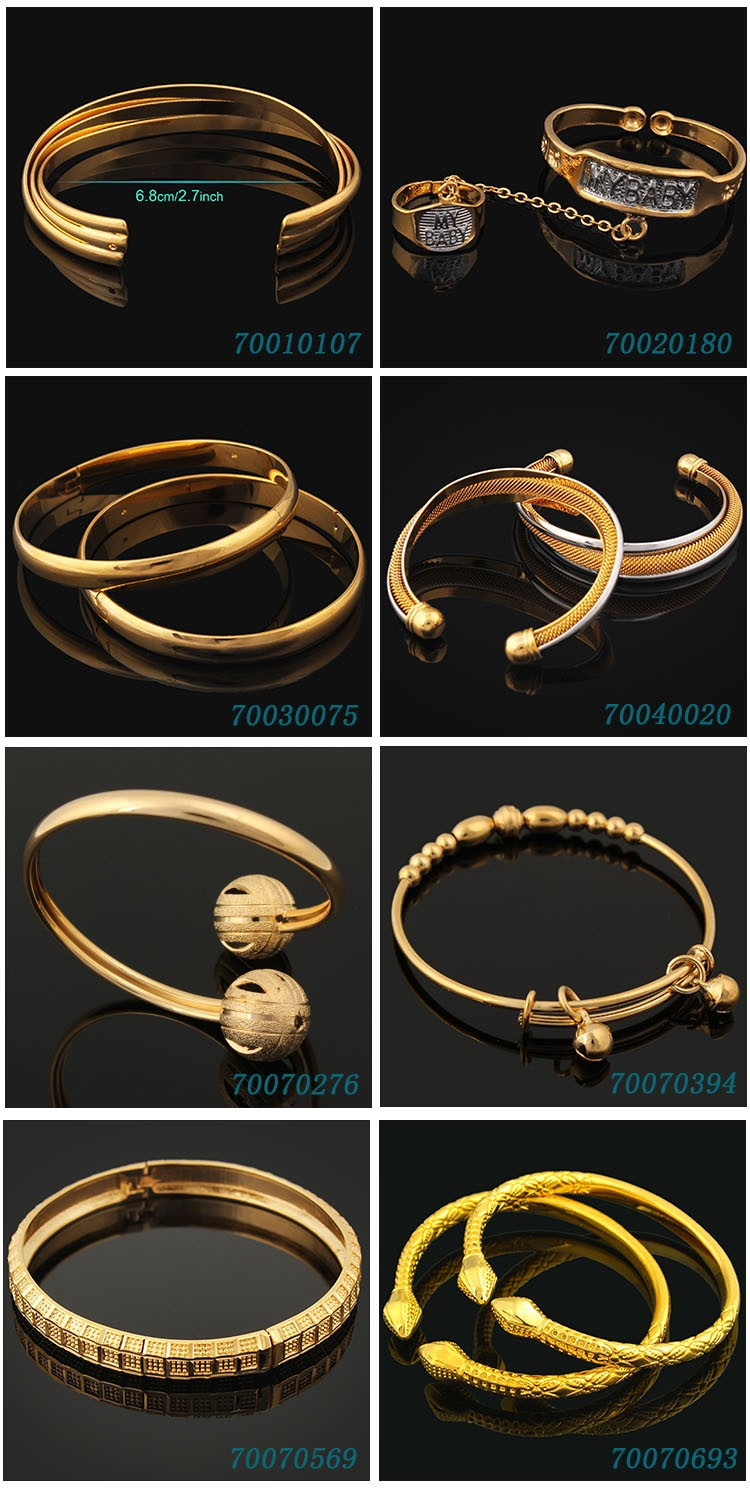 Wholesale Fashion 24k Gold Bangles Dubai Jewelry,Turkish Gold Bangles For  Anniversary Gift - Buy 24k Gold Bangles Dubai Jewelry,Turkish Gold