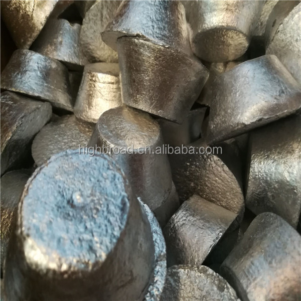 Aluminum Strontium alloy ingots customized to customer's demand