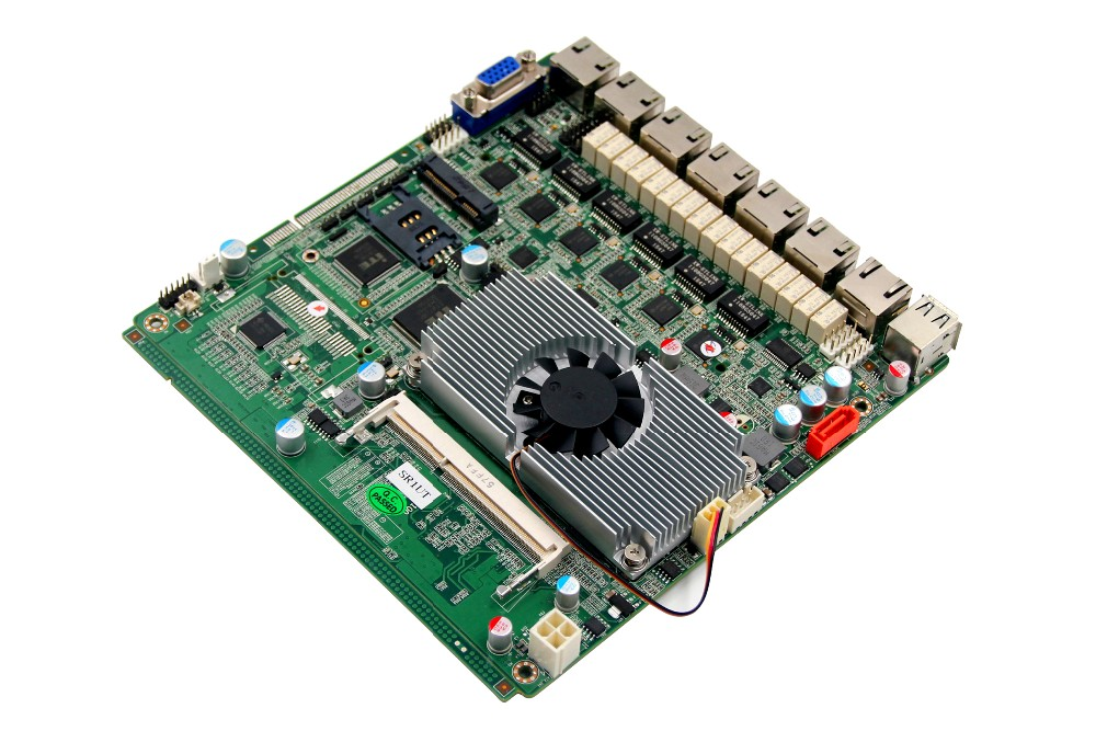 Dual Socket Server Motherboard with 3*RS232,2 PIN header,1*RJ45 port