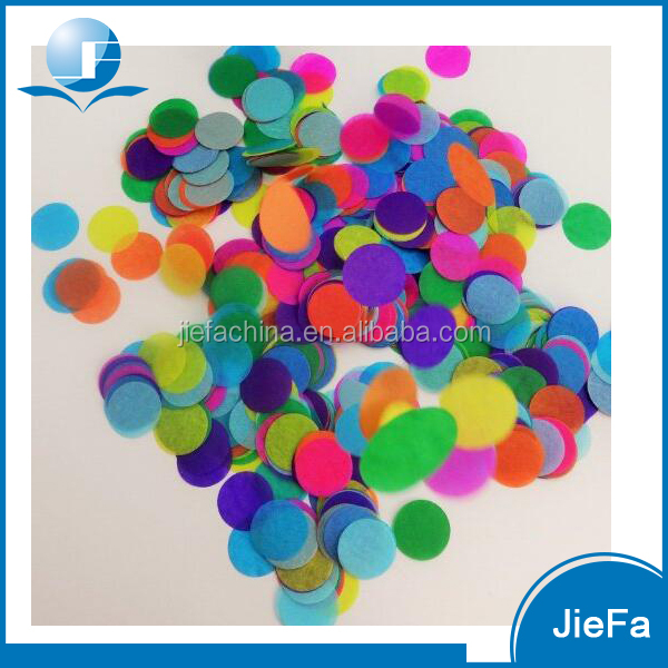 Beautiful and Unique Round Shape Confetti