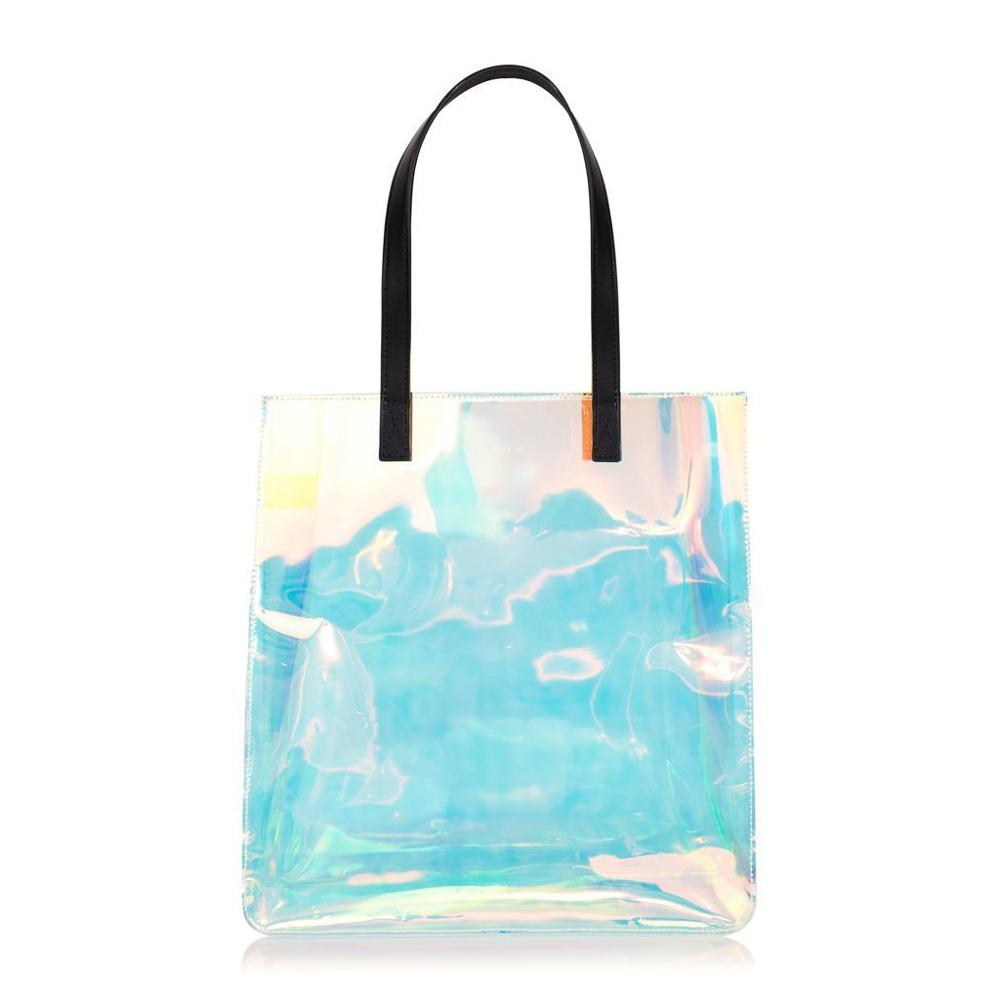 Tpu Clear Iridescent Bag Tote Handbag Product On Alibaba