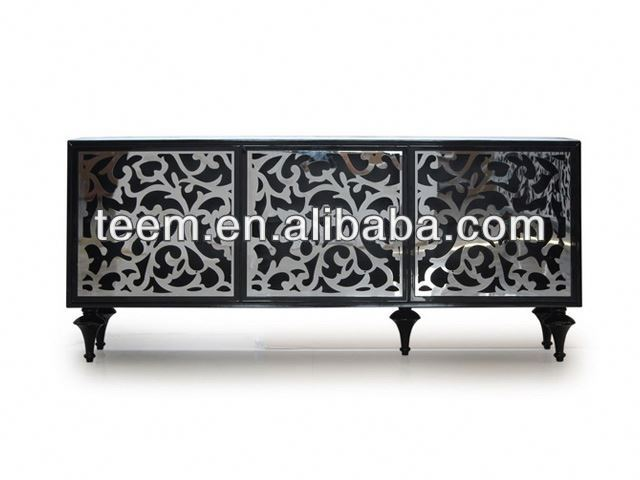 Divany Furniture living room furniture cabinet LS-547 decor egyptian furniture antique