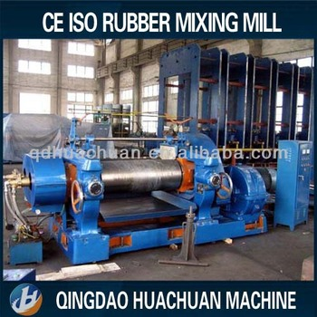 Rubber Mixer Two Roll Mixing Machine For Rubber Buy