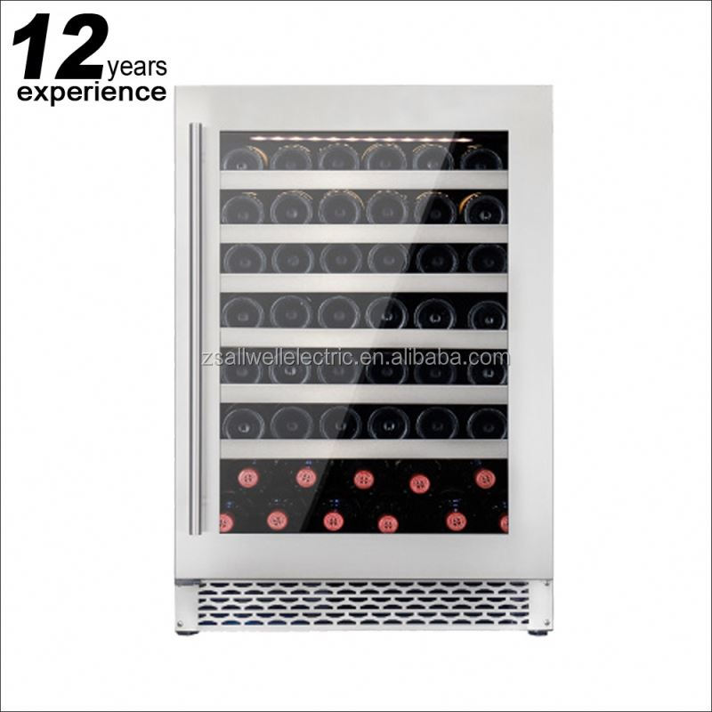Made in China constant temperature in cabinet wine cooler with led light