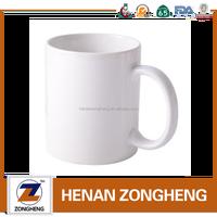 ceramic promotion personalized 11 oz white sublimation mug
