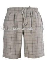 cotton yarn dyed shorts