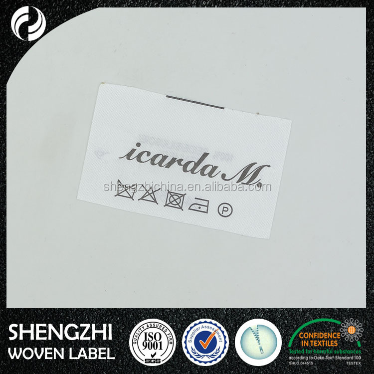 High Quality Made in China Custom size Printed Label/ribbon printed label