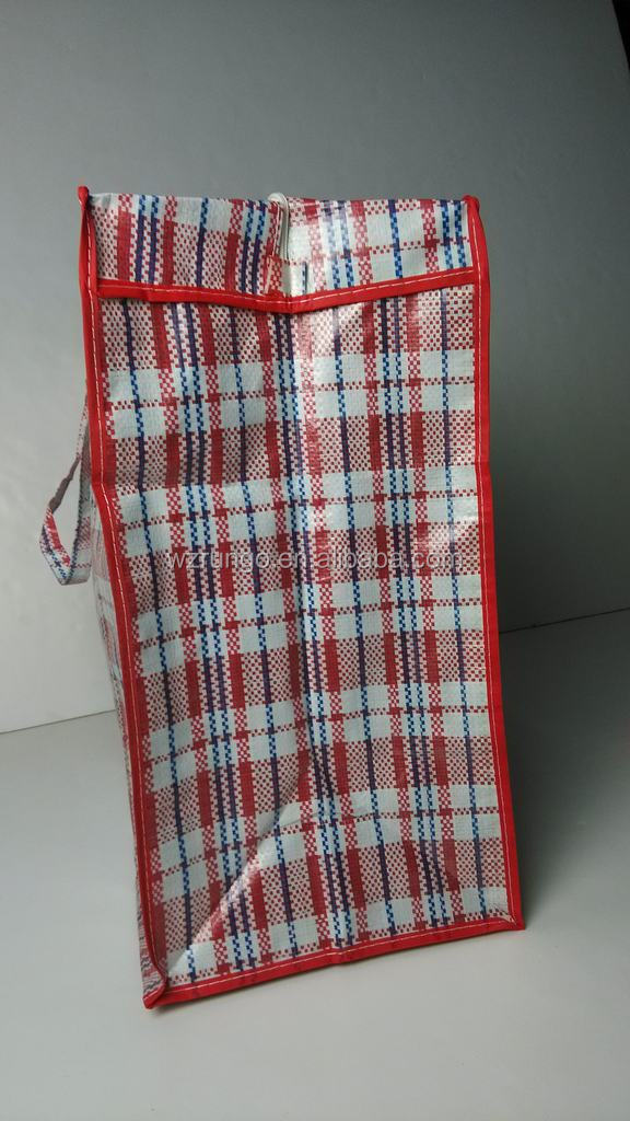Chinese Pp Woven Laundry Bag With Zipper