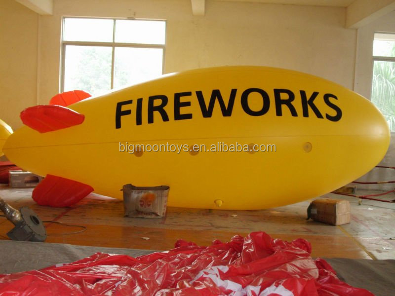 Attractive air blimp for sale / remote control helium balloons