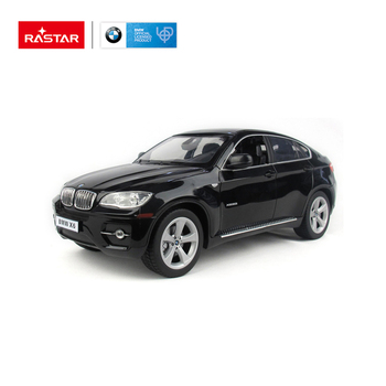 RASTAR powerful children 1/14 scale battery operated BMW X6 radio control rc car