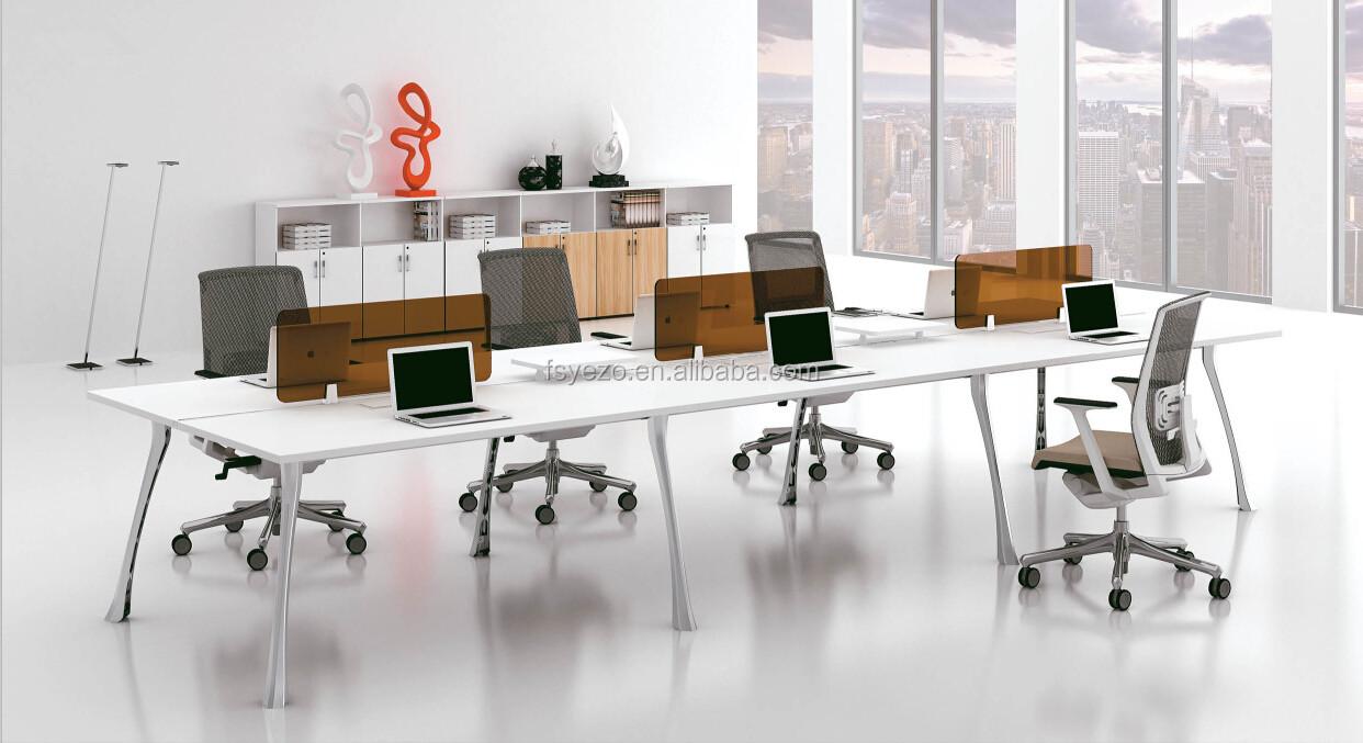 Design Moderne Lin Aire Open Bureau Poste De Travail