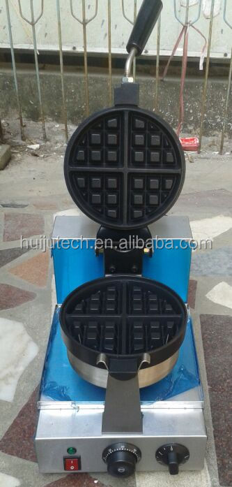 Hot Sale Commercial Single Plate Electric Waffle Maker HJ-MN017
