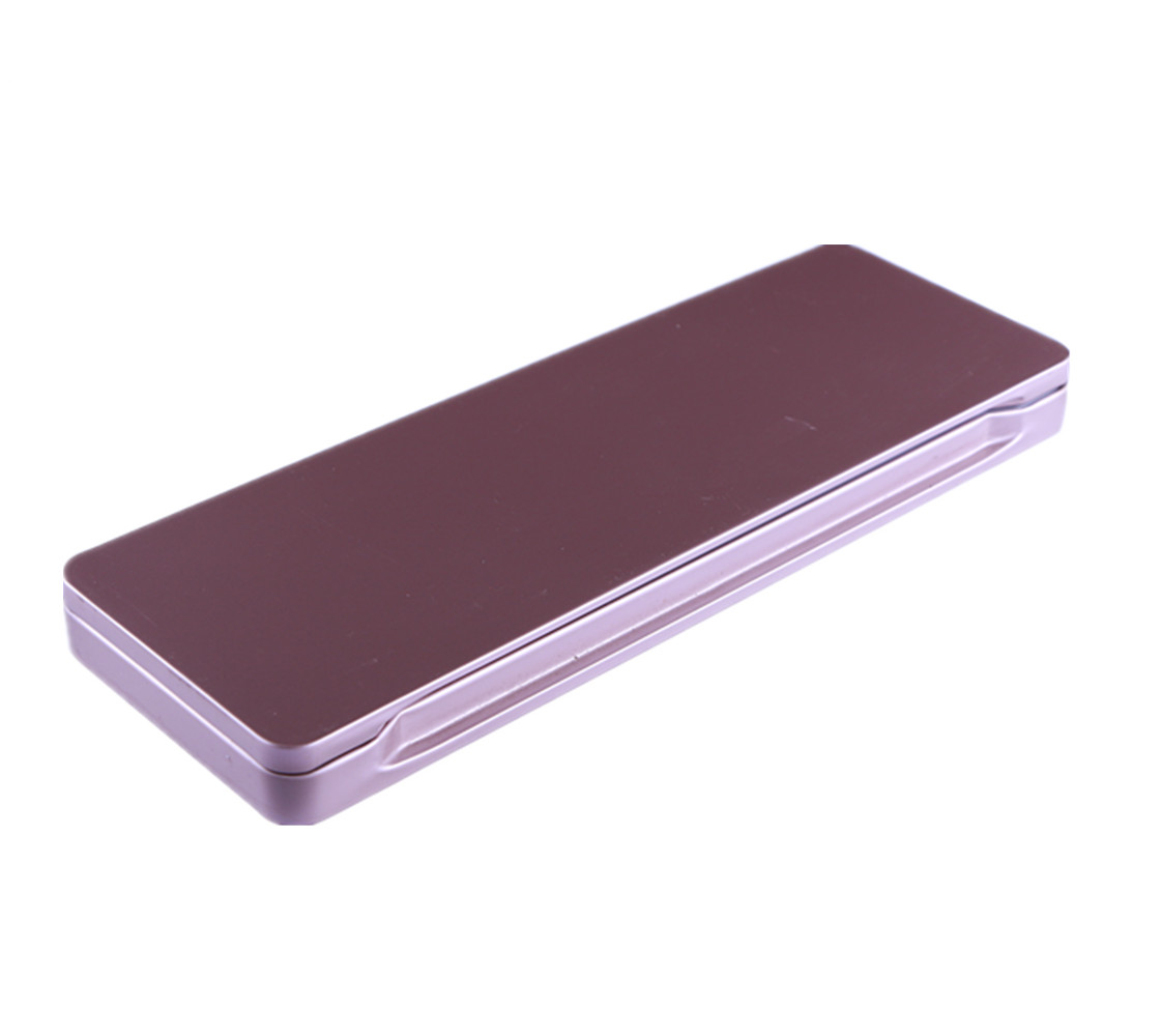 6 colors private label tin box metal cosmetic eyeshadow palette tin makeup palette packaging tin box