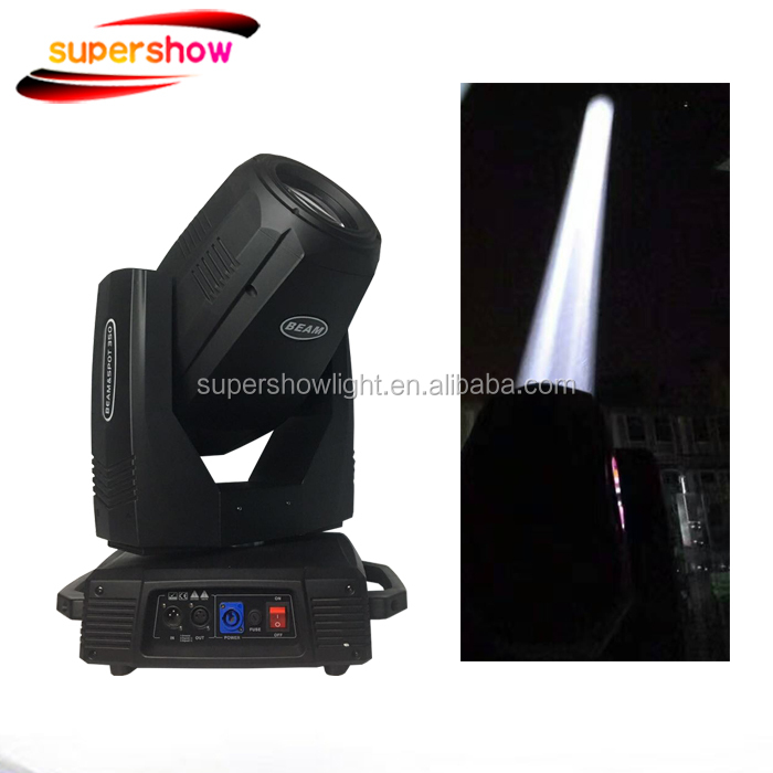 350w 17r beam spot wash moving head with night club sound system