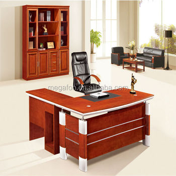 Modern Furniture Upscale Mahogany Desks For Home Office(FOH HS A18B1)