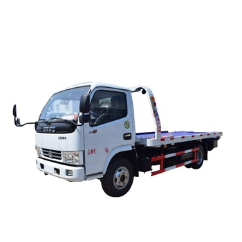 China Dongfeng Semi Tow Truck with Hitch and Lights for Sale