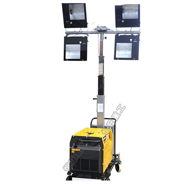 300w 4 Lights Portable Lighting Tower Led Light Price Product On