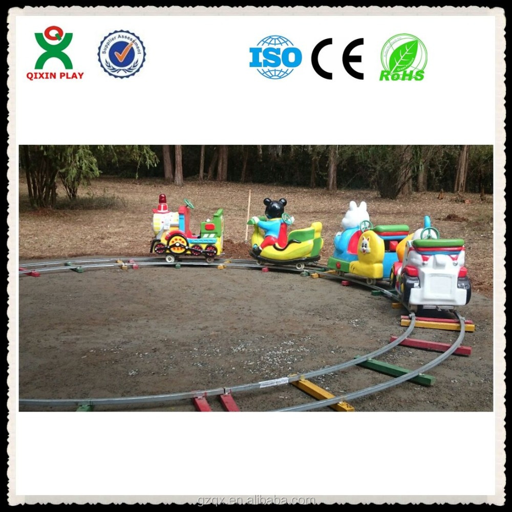 Hot sale kids train/Electric train toy/electric playground equipment QX-130C