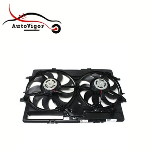 Radiator Cooling Fans Electric for A4 S4 OEM 8K0121207A 8K0959455F 8K0959455M 8K0959455G 8K0959455P 8K0 121 207A