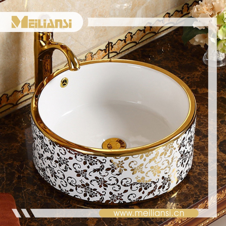 Bathroom Sanitary Items Wash Basin Ceramic Oval small glass basin