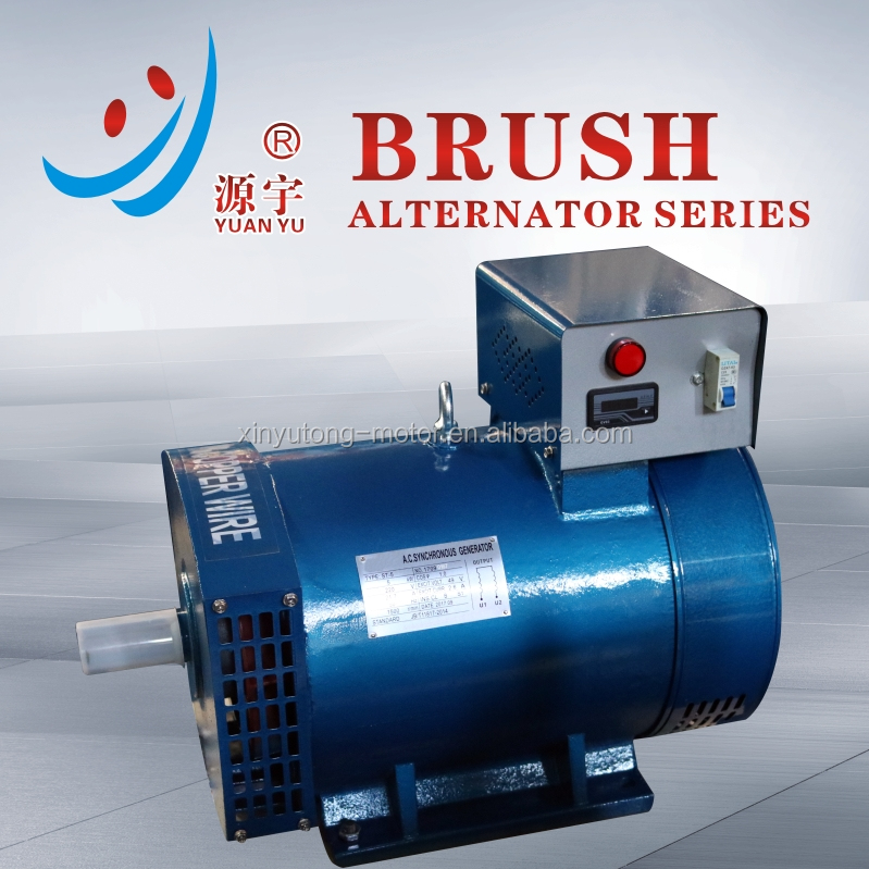 ST 5kw Dynamo Prices Single Phase AC Alternator with Digital Gauge for sale in Thailand