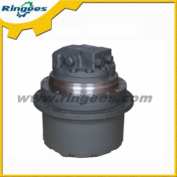 Hydraulic travel motor final drive undercarriage wheel for Hydraulic track drive motor