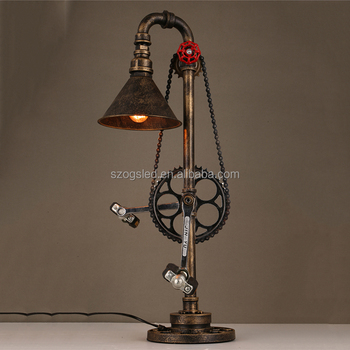 Buy Tubo Mesa Lámpara Product On De lámpara Industrial Óxido China Forma Fabricante Vintage Mesa Bicicleta AL34R5qcj