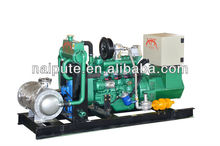 15kW natural gas generator set with CHP