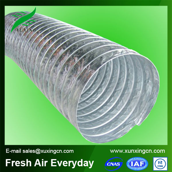 flexible aluminum air ventilation tube