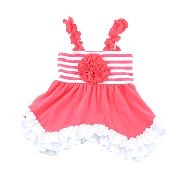 ccfd5be5c Wholesale 2018 Baby Cotton Frock Design Pictures Modern Boutique ...