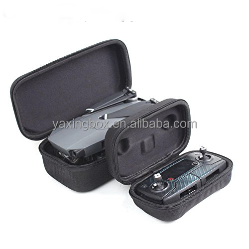 Remote Control Case and Drone Body Storage Box Combo for DJI Mavic Pro Drone