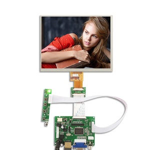 1024x768 touch screen 40 pin hdmi to lvds board LCD module for tablets raspberry Pi monitor 8 inch tft ips LCD panel