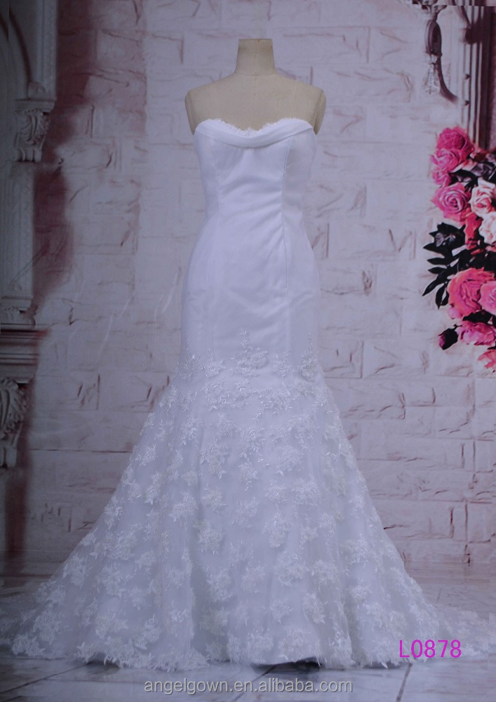 Sweetheart Top quality real piture purple and white sash available puffy ball gown wedding dress guangzhou