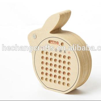 Hot Sell Custom Made New Design Wooden Desk Calendar Buy