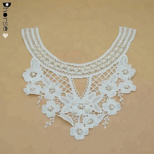 Lace collar DIY floral beaded lace collar for a dream wedding