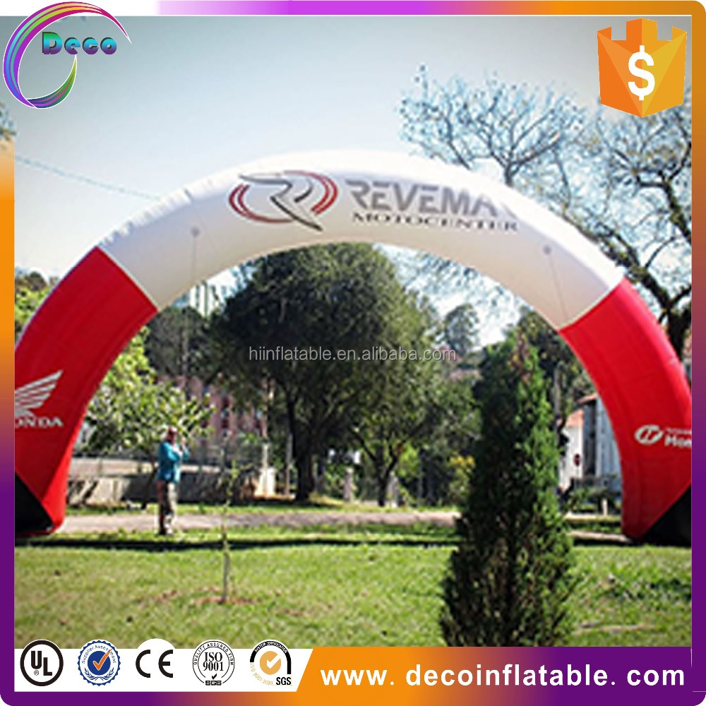 customized advertising Inflatable Archways with printing for commercial activities