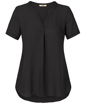 8f97c6cd5db835 Modern Style Latest Chiffon Tops Mature Ladies Sample Blouse - Buy ...