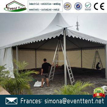 Commercial Gazebo Tent Bamboo Beach Frame For Wedding Party