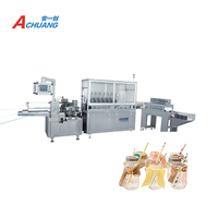hot product new style single paper straw packing machine paper straw making machine