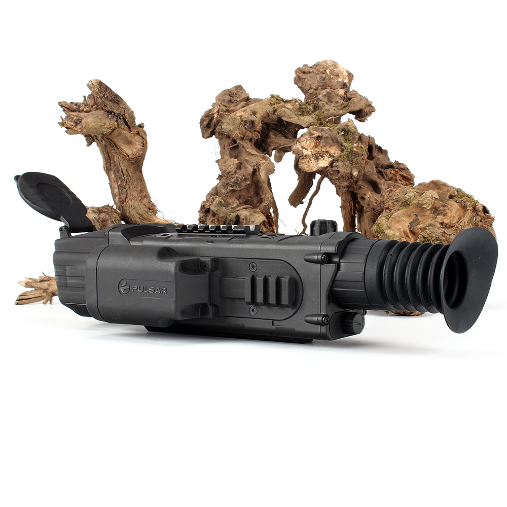 Pulsar LRF N970 Digital Night Vision Riflescope Integrated Laser Rangefinder IR Illuminator Hunting Infrared Rifle Scope