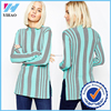 China online shopping knit stripe sweater sweater design for smart women